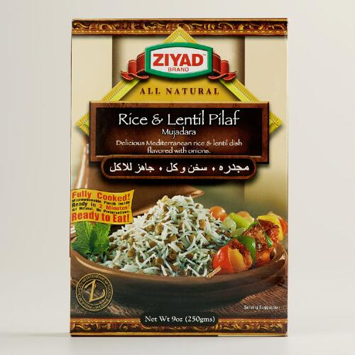 Ziyad Mujadara Lentil and Rice Pilaf Mix