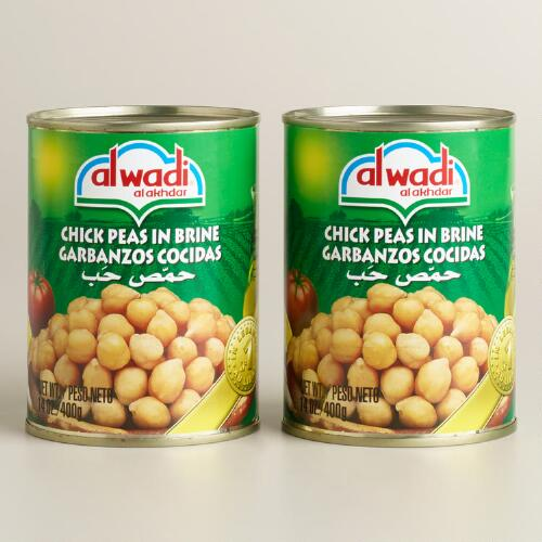 Al Wadi Garbanzo Beans, Set of 2