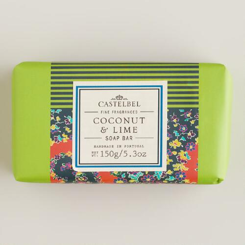 Castelbel Coconut & Lime Bar Soap