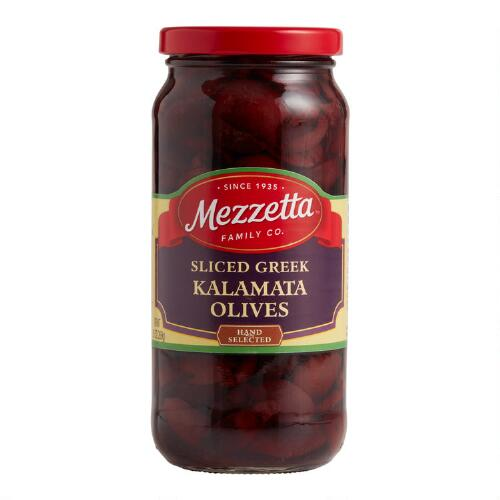 Mezzetta Sliced Kalamata Olives