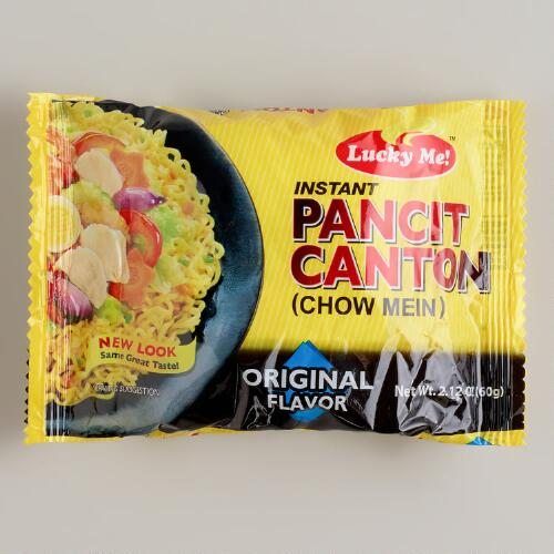 Lucky Me! Spicy Pancit Canton Noodles