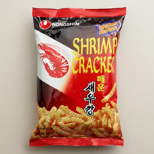 Nong Shim Spicy Shrimp Crackers