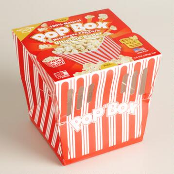 Pop Box Extra Butter Popcorn Set of 12