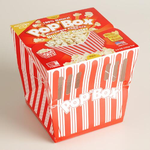 Pop Box Extra Butter Popcorn