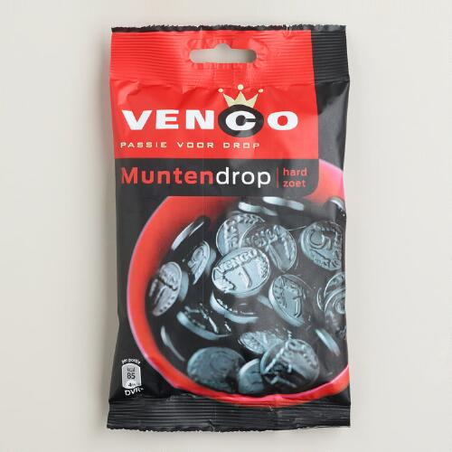 Venco Licorice Coins, Set of 4