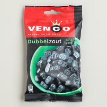 Venco Double Salted Licorice, Set of 4
