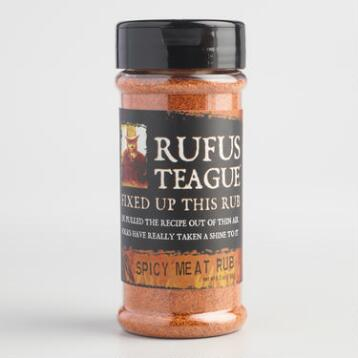 Rufus Teague Spicy Meat Rub, Set of 2