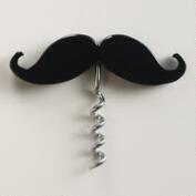 Handle Bar Moustache Wine and Beer Opener