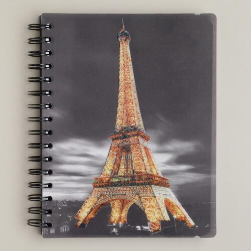 Illuminated Paris Journal