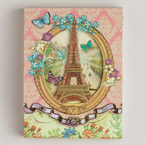 Eiffel Tower Purse Pad
