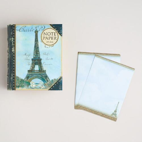 Eiffel Tower Boxed Note Paper