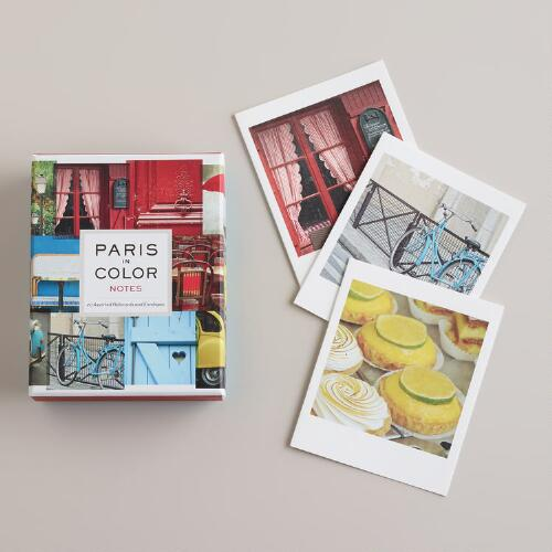 Paris in Color Notecards, Set of 12