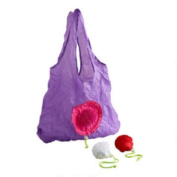 Rose Foldable Tote Bags, Set of 3