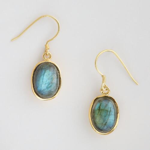 Labra Stone Drop Earrings
