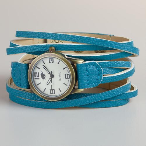 Turquoise Multi-Strand Watch