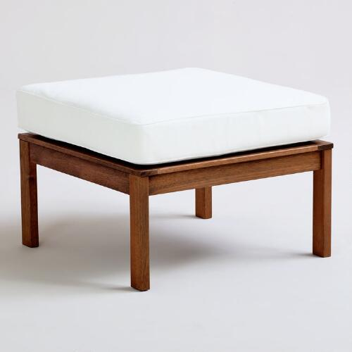 St. Martins Ottoman with Cushion