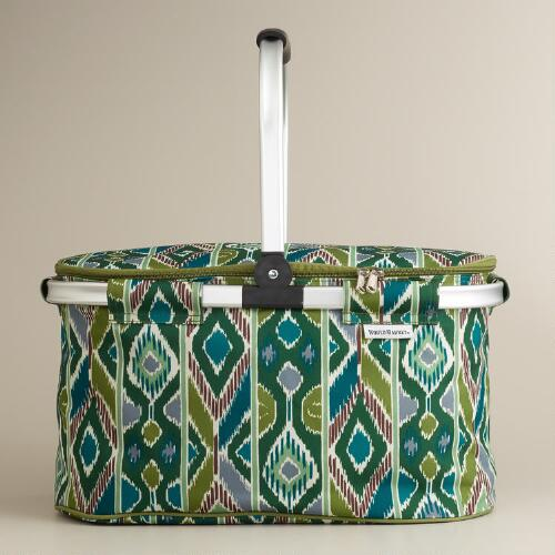 Blue Lennox Insulated Collapsible Tote