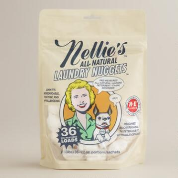 Nellie's All-Natural Laundry Nuggets, 36-Count