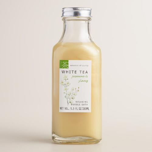 White Tea Jasmine and Ylang Bubble Bath