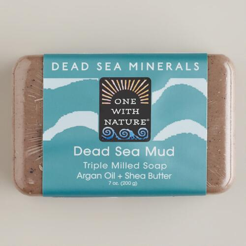 One With Nature Dead Sea Mud Soap