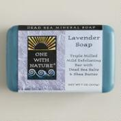 One With Nature Dead Sea Lavender Soap