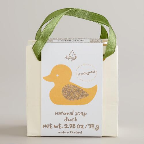 Lemongrass Handmade Soap Duck