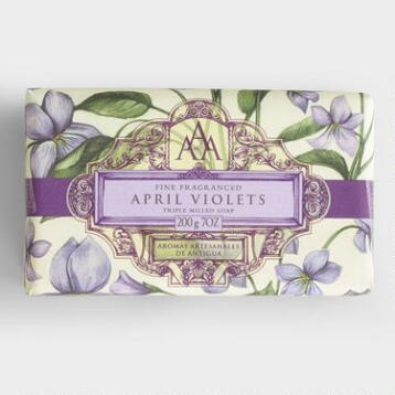 AAA April Violets Bar Soap