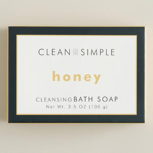 Clean and Simple Honey Bath Soap