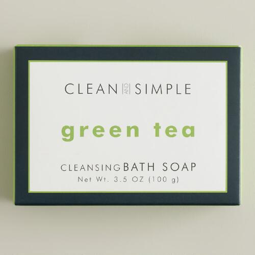 Clean and Simple Green Tea Bath Soap
