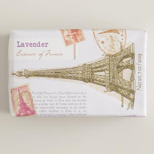 France Around The World Soap