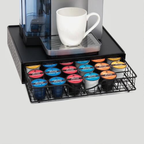 36-Pod Coffee Pod Storage Drawer