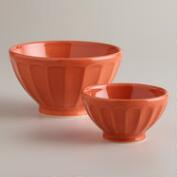 Rust Cafe Bowls, Set of 2