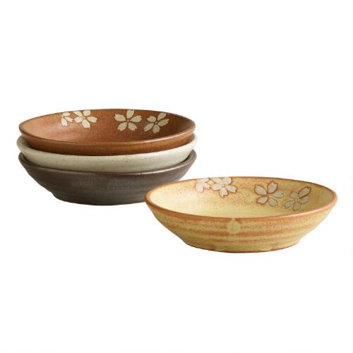 Fuji Dip Bowls, Set of 4