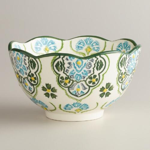 Teal Inverness Bowl