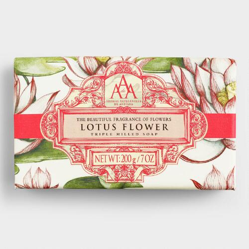 AAA Lotus Flower Exfoliating Bar Soap