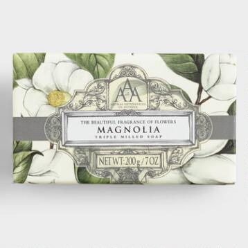 AAA Magnolia Exfoliating Bar Soap