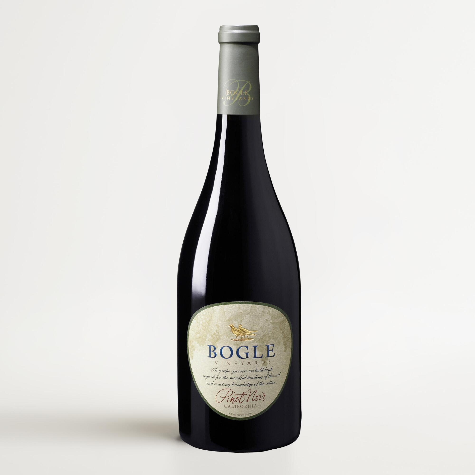 Bogle pinot noir world market for Best pinot noir in the world