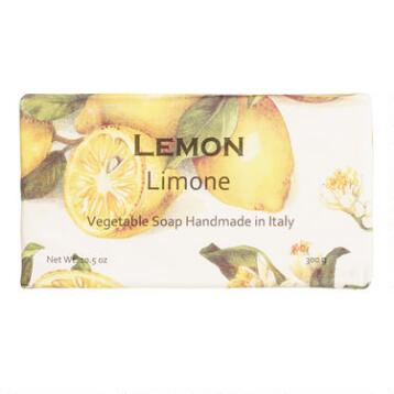 Lemon Organic Italian Vegetable Soap