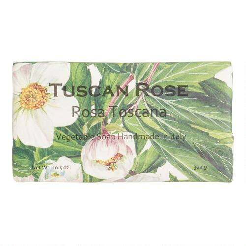 Tuscan Rose Organic Italian Vegetable Soap