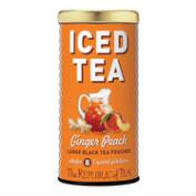 The Republic of Tea Ginger Peach Black Iced Tea, 8-Count