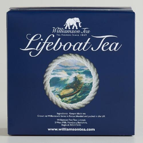 Williamson Lifeboat Tea, 80-Count