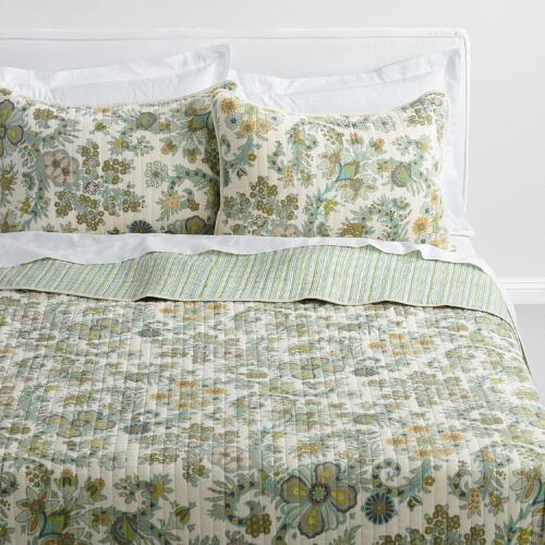 Indian Floral Alisha Quilt