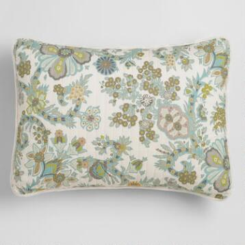 Indian Floral Alisha Pillow Shams, Set of 2
