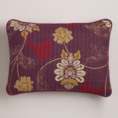 Nouveau Feather Pillow Shams, Set of 2