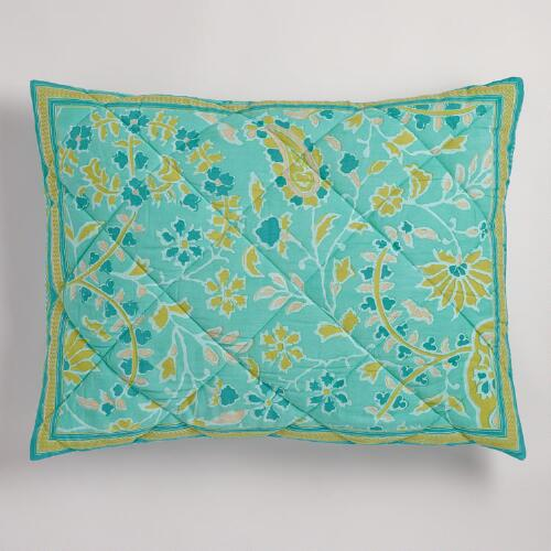 Ria Paisley Pillow Shams, Set of 2