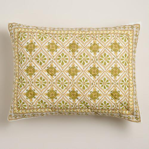 Nia Trellis Pillow Shams, Set of 2