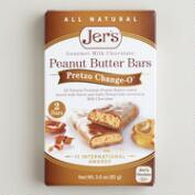 Jer's Pretzo Change-O Peanut Butter Bars, Set of 2