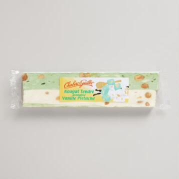 Chabert & Guillot Vanilla Pistachio Nougat Bar, Set of 6