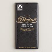 Divine 85% Dark Chocolate Bar, Set of 2