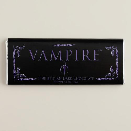 Vampire Dark Chocolate Bar